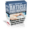Thumbnail Article Page Machine with Master Resale Rights