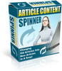 Thumbnail Article Content Spinner with Master resale Rights