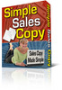 Simple Sales Copy Creator. With Private Labels Rights +  Master Resale Rights