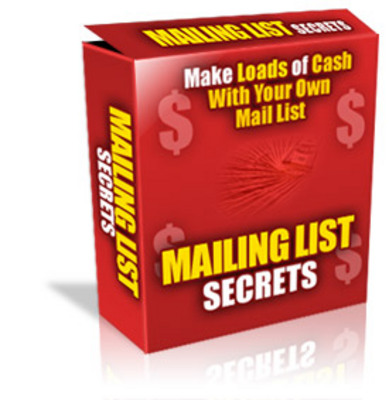 Product picture Mailing List Secrets With Master Resale Rights