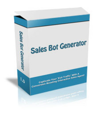 Product picture Sales Bot Generator with Master Resale Rights