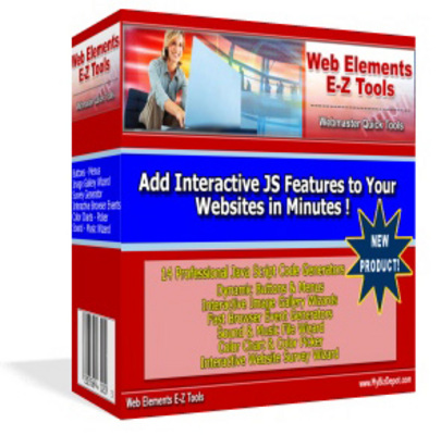 Product picture Web Elements E-Z Tools With Master Resale RIghts