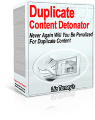 Product picture Real Duplicate Content Detonator  With Master Resale RIghts