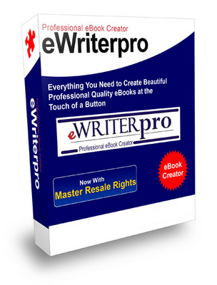 Product picture E-Writer Pro  With Master Resale RIghts