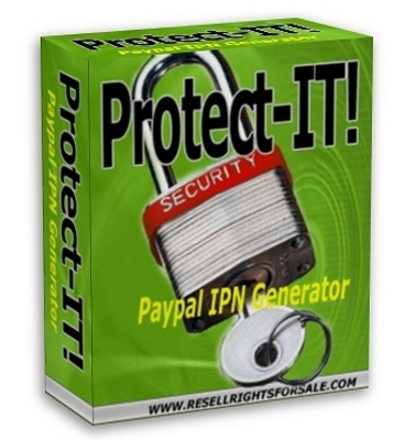 Product picture Protect-IT! IPN Generator With Master Resale Rights
