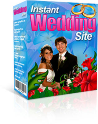Product picture Instant Wedding Site With Master Resell Rights