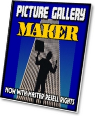 Product picture Picture Gallery Maker...  With Master Resale Rights
