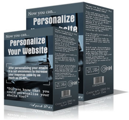 Product picture Personalize Your Website With Master Resale Rights