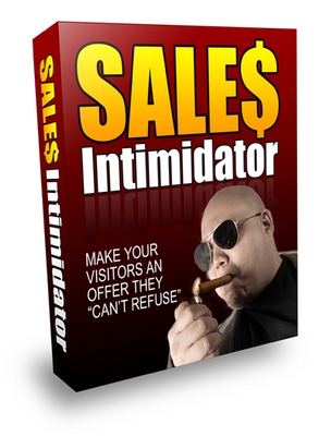 Product picture Sales Intimidator! With Private Labels Rights + Master Resale Rights