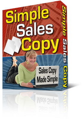 Product picture Simple Sales Copy Creator. With Private Labels Rights +  Master Resale Rights