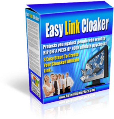 Product picture Easy Link Cloaker With Master Resale Rights