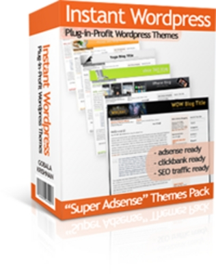 Product picture Instant Wordpress Themes  With Master Resale Rights