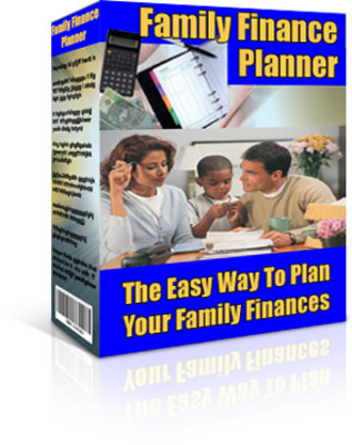 Product picture Family Finance Planner With Master Resell Rights