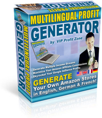 Product picture **NEW** Multilingual Profit Generator - Generate Own SEO Amazon Stores in English, French & German With Master Resale RIghts
