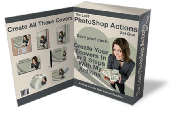 Product picture The Lost PhotoShop Actions - Create Images With 2 Easy Steps  With Master Resale Rights