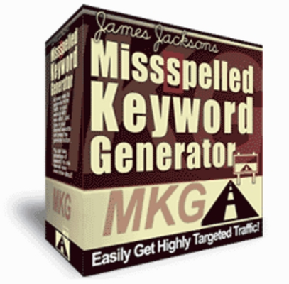 Product picture *NEW* Misspell Generator WIth Master Resale Rights