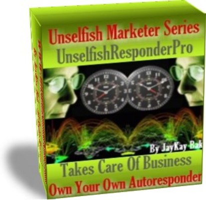 Product picture Our AutoResponder: UnselfishResponderPro With Master Resale Rights